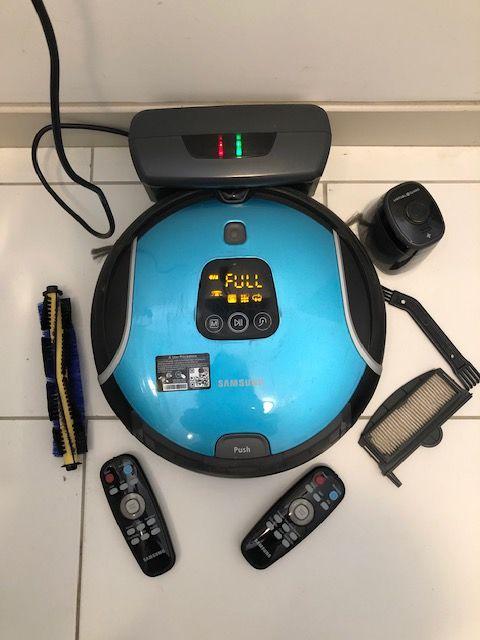Aspirateur Robot Samsung Navibot Corner Clean sans sac. 145 Sarzeau (56)