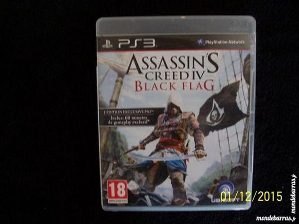 JEU PS3 ASSASSIN'S CREED IV BLACK FLAG 15 Les Églisottes-et-Chalaures (33)