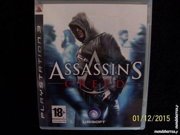 JEU PS3 ASSASSIN'S CREED Consoles et jeux vidéos