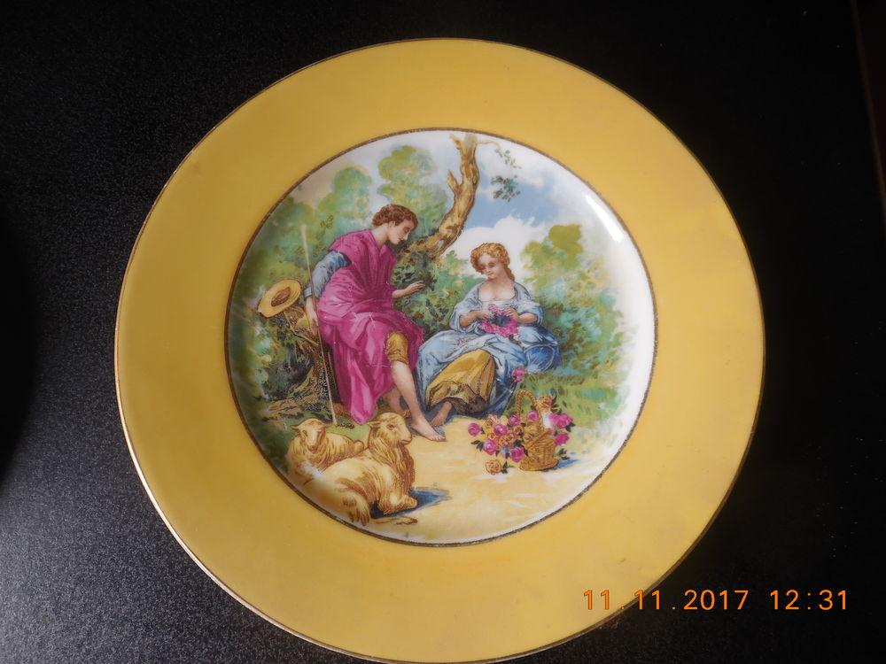 assiette ancienne porcelaine 29 Sète (34)