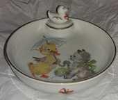 Assiette bébé chauffante Porcelaine Limoge OURAGAN 10 Romainville (93)