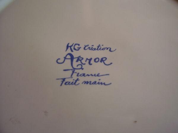 ASSIETTE KG CREATION  18 Saint-Lô (50)
