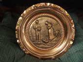 assiette en cuivre 15 Le Tampon (97)