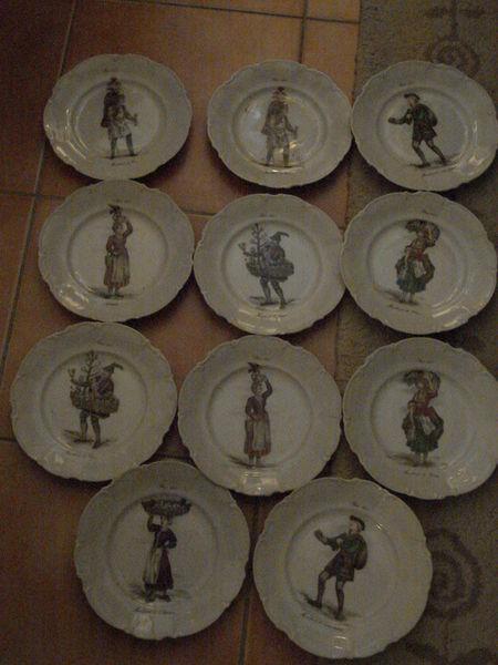 11 ASSIETTE DECORATIVE PORCELAINE DE LIMOGES SOFAFILS 100 Fontenay-le-Fleury (78)