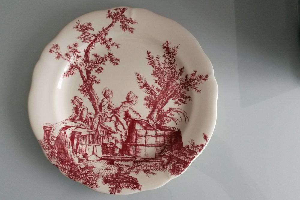 Assiette décorative porcelaine de Gien 0 Montigny-le-Bretonneux (78)