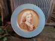 Assiette Faïence Leveillé Rousseau Signée Toussaint 1899 230 Loches (37)