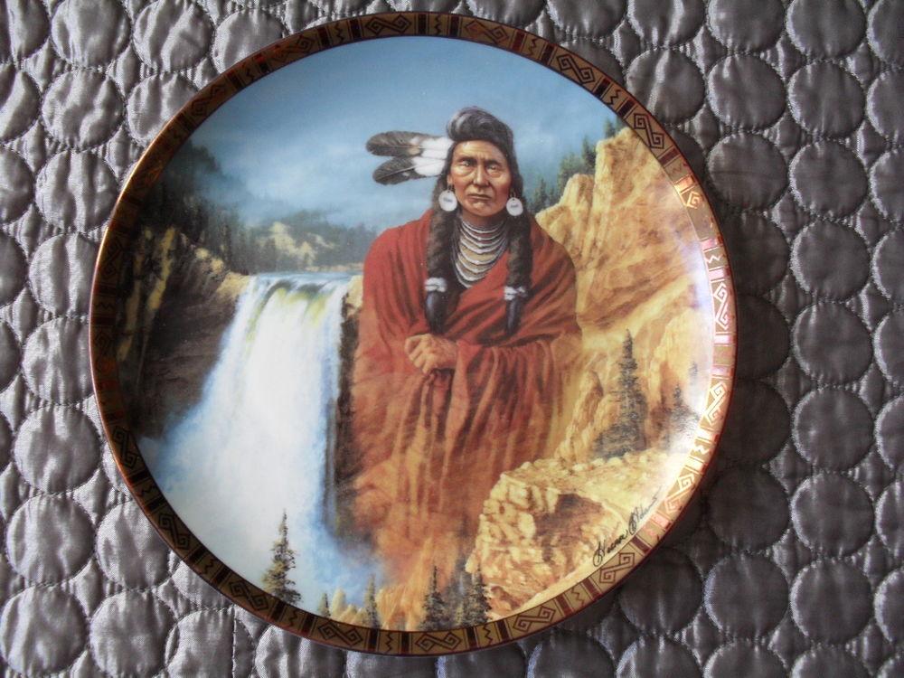 ASSIETTE FRANKLIN MINT collection amérindien indien native  12 Toul (54)
