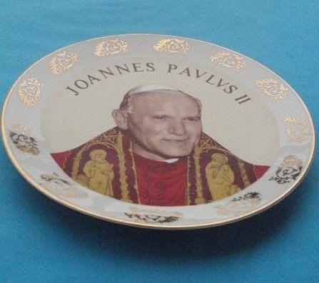 Assiette JOANNES PAULUS II (Jean Paul II) Limoges 8 Montauban (82)