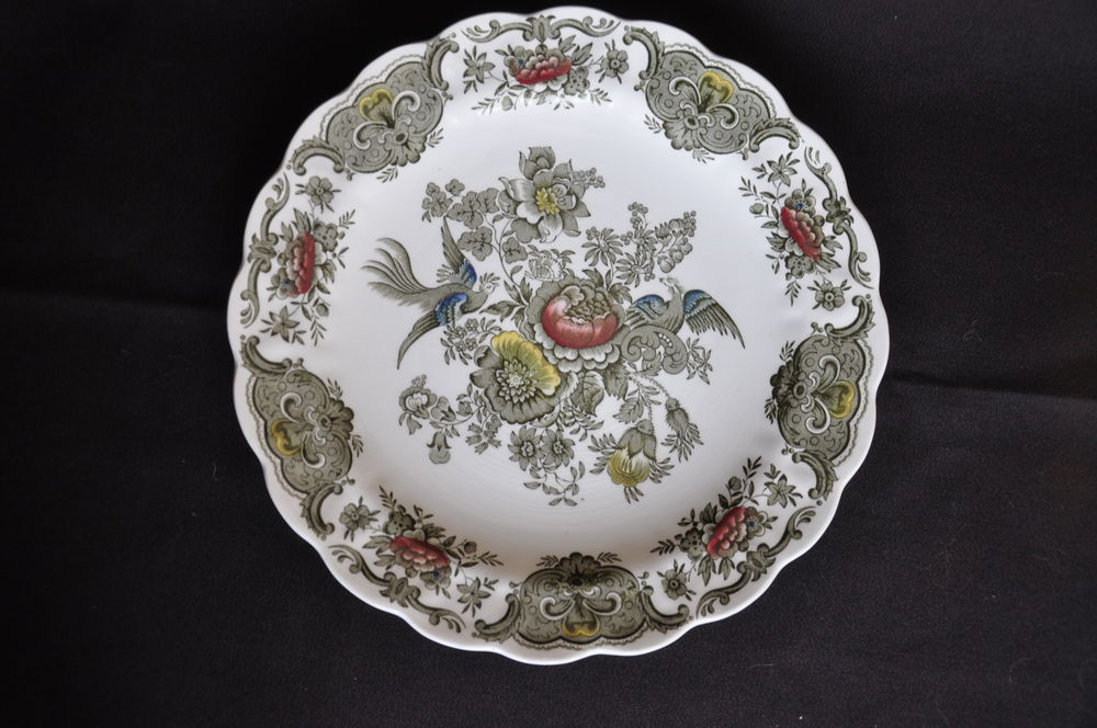 Assiette Porcelaine Ridgway Staffordshire Windsor 12 Guilvinec (29)