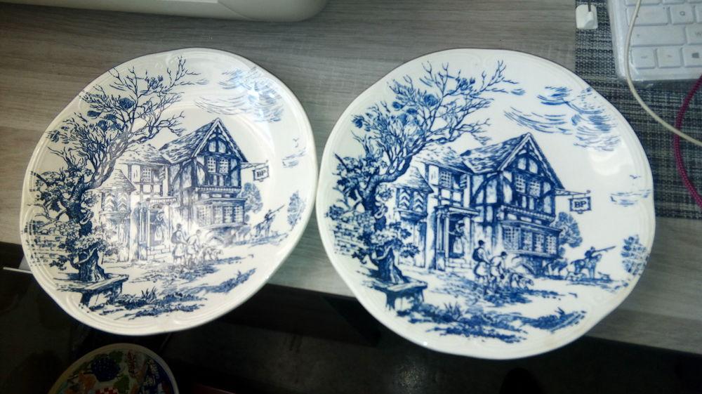assiette porcelaine  15 Béthune (62)