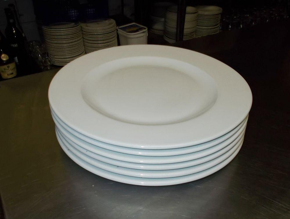 assiette restaurant gastro blanche diamètre : 30cm  4 Monflanquin (47)