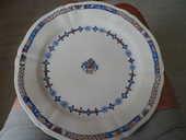 assiette de rouen du 17ème siécle. 0 Berck (62)