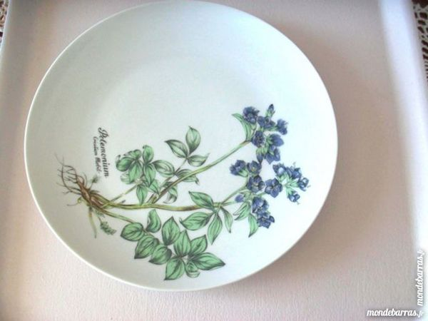Assiette Winterling Bavaria Roslau MOBIL collection 7 Thizy (69)