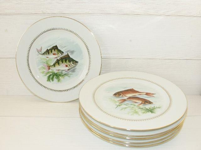 Lot 6 assiettes anciennes porcelaine Sofafils - COMME NEUF 24 Mérignac (33)
