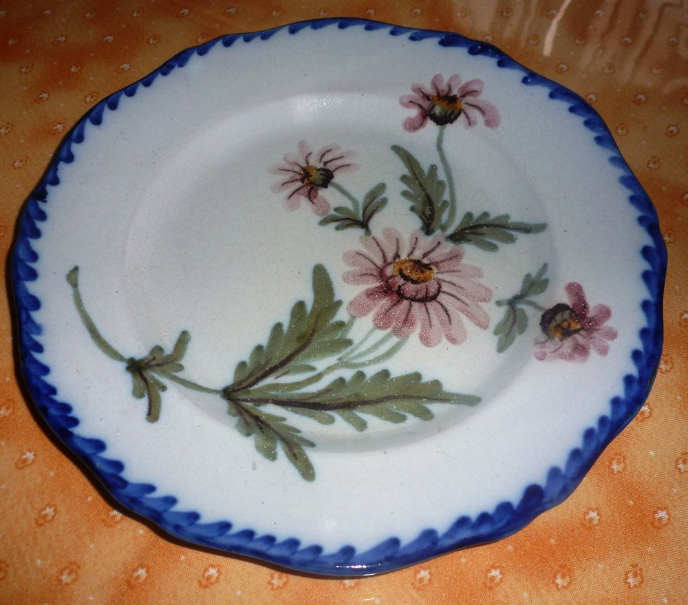 assiettes anciennes, lot de 5 24 Florange (57)