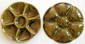Assiettes céramique crudités GIEN vintage 5 Issy-les-Moulineaux (92)
