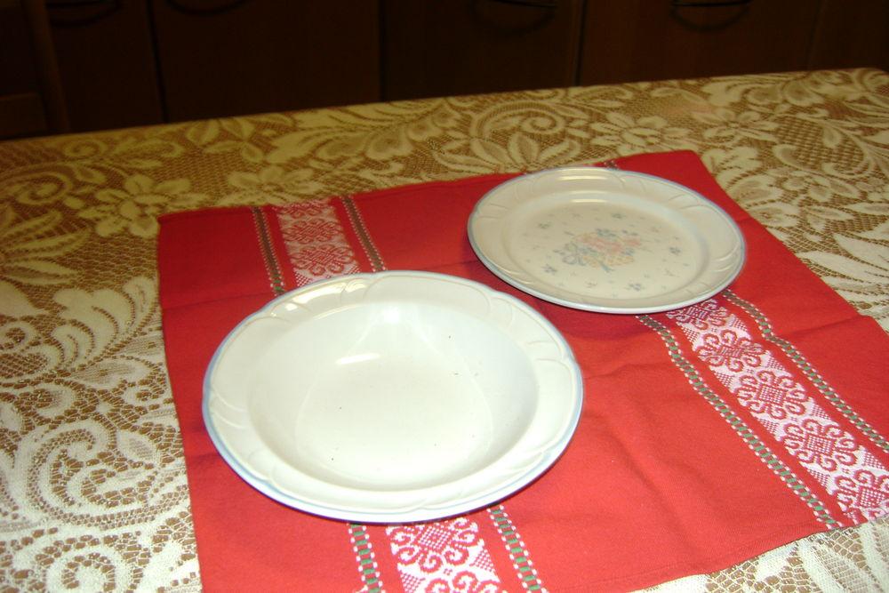 Assiettes creuses en porcelaine 50 Metz (57)