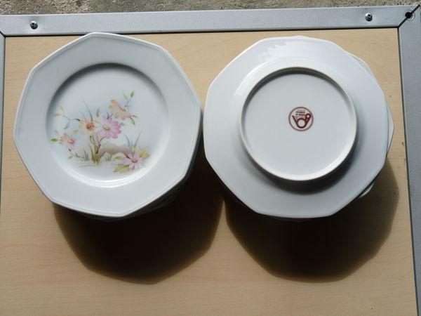 assiettes à dessert porcelaine de sologne 0 Mellecey (71)