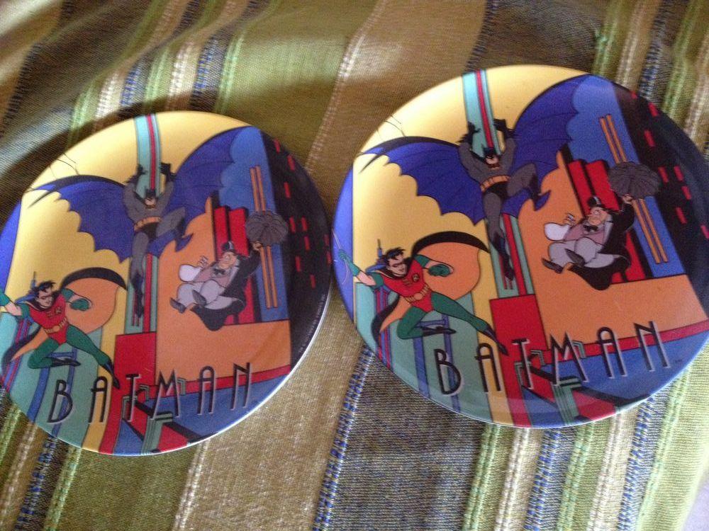 2 assiettes mélaminé Batman 4 Saint-Just (34)