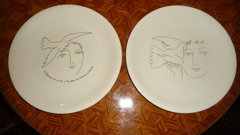 ASSIETTES PICASSO 80 Trappes (78)