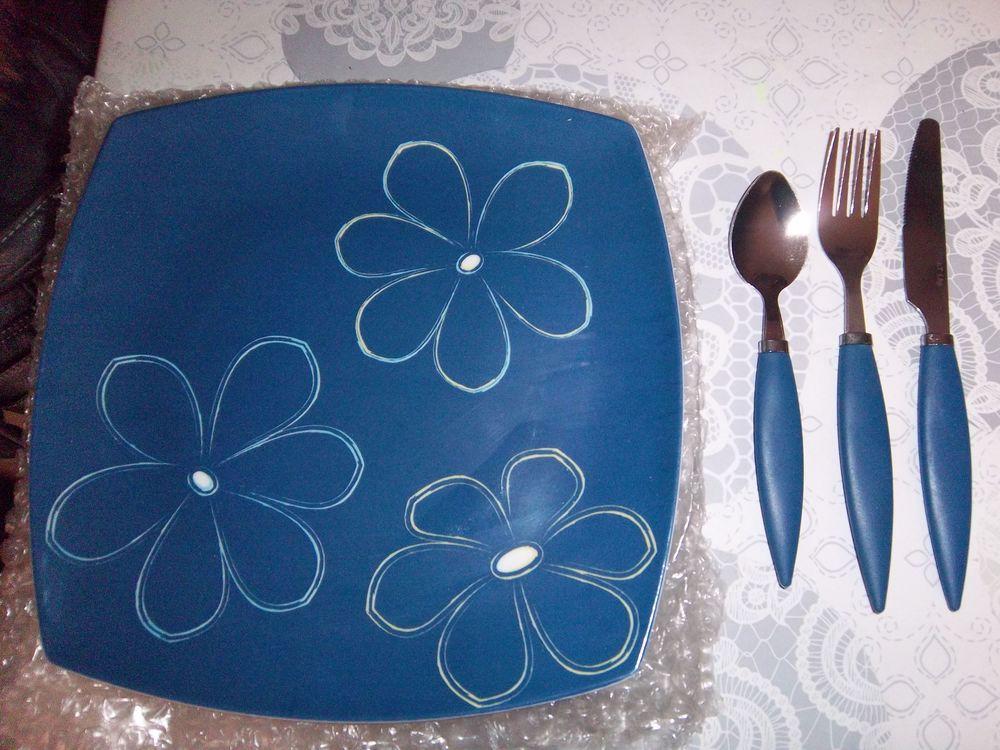 assiettes plastique+couverts 12 Bossay-sur-Claise (37)