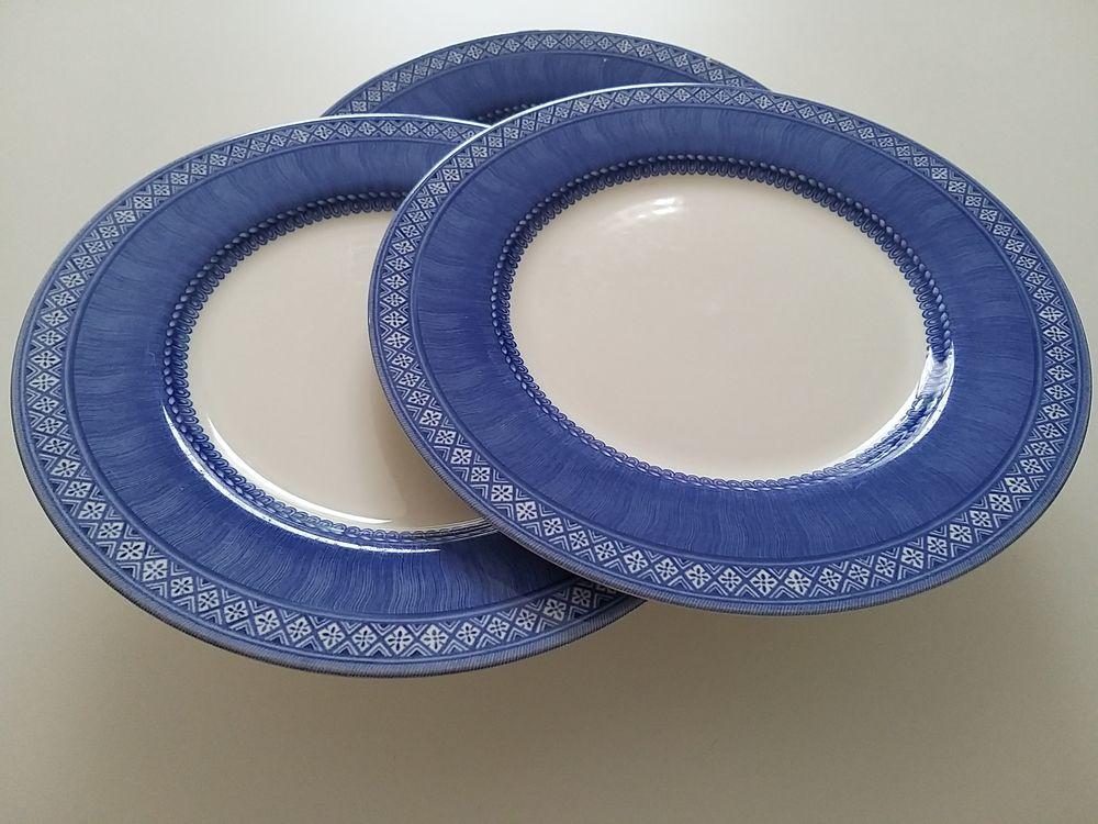 Lot 6 assiettes plates 0 Loupian (34)
