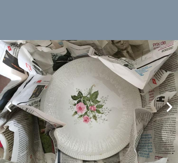 7 assiettes en porcelaine chinoise + 6 assiettes dessert  15 Alfortville (94)