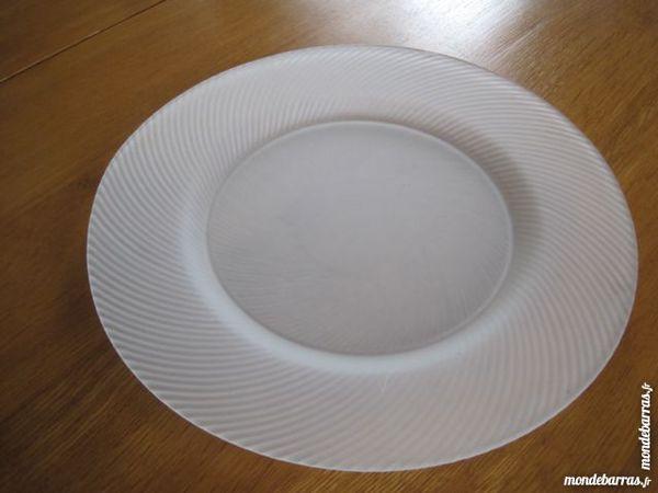 assiettes présentation blanches 40 Castres (81)