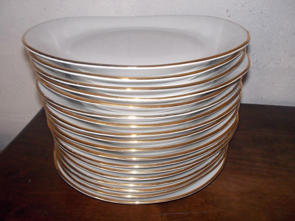 Assiettes de Présentation Porcelaine fine 35 Vierzon (18)