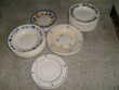 Assiettes et raviers ancien