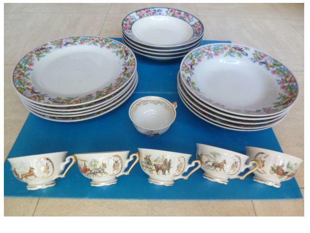 assiettes, tasses, coupes à fruits ....- zoe 2 Martigues (13)