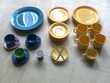 assiettes, tasses, soucoupes colorées - zoe Martigues (13)