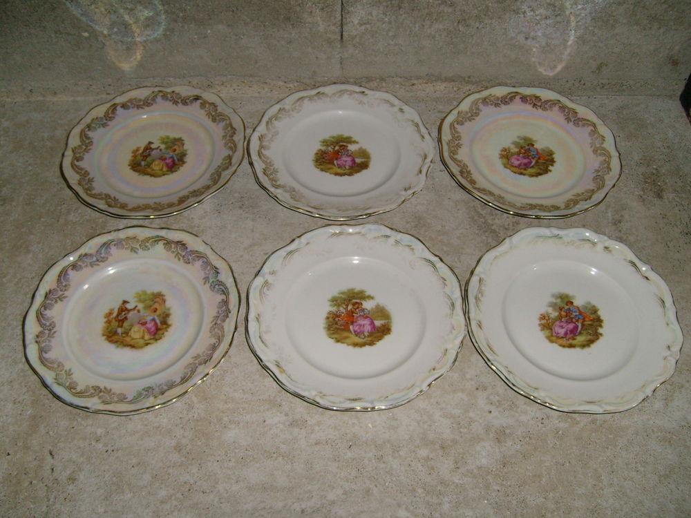 Assiettes en véritable porcelaine 0 Varades (44)