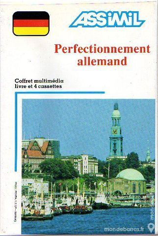 Assimil Perfectionnement allemand livre + 4k7 50 Saint-Germain-de-Tournebut (50)