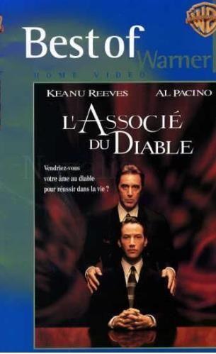 VHS  L'ASSOCIE DU DIABLE  2 Les Églisottes-et-Chalaures (33)