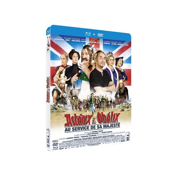 Blu-ray et DVD  Astérix et Obélix: Au service...  Neufs 22 Ardoix (07)