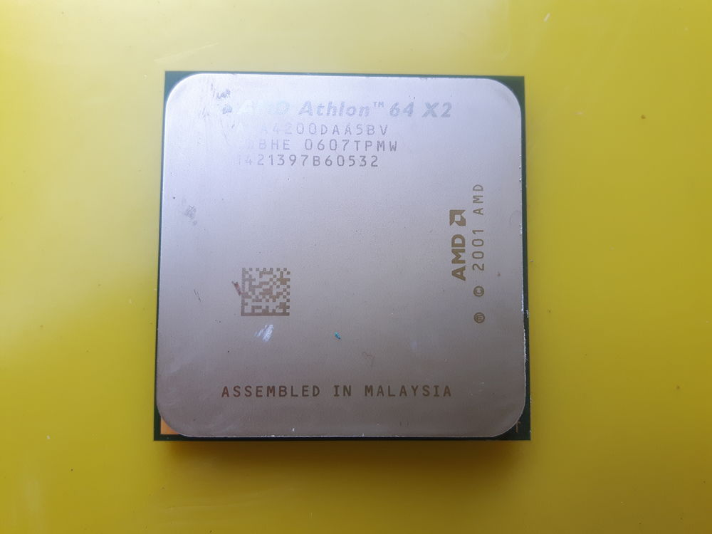 AMD athlon 64 x2 4200 + 2,2 GHz double c?ur ada4200daa5bv 15 Saint-Germain-lès-Arpajon (91)