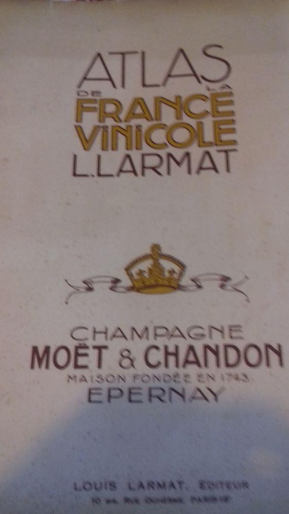 atlas de la FRANCE vinicole de Louis Larmat Livres et BD