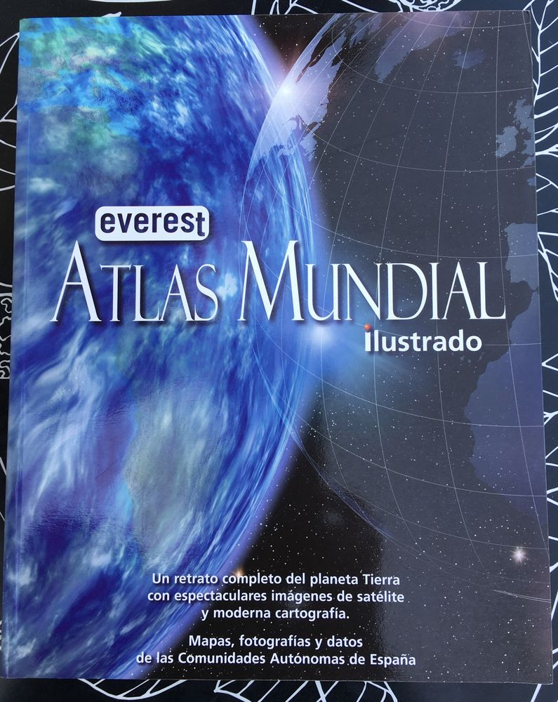 Atlas Mundial ilustrado,Grand atlas broché NEUF en Espagnol  22 L'Isle-Jourdain (32)