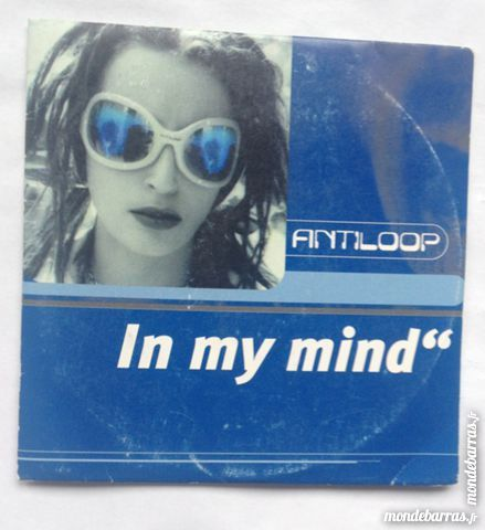 cd audio antiloop in my mind CD et vinyles