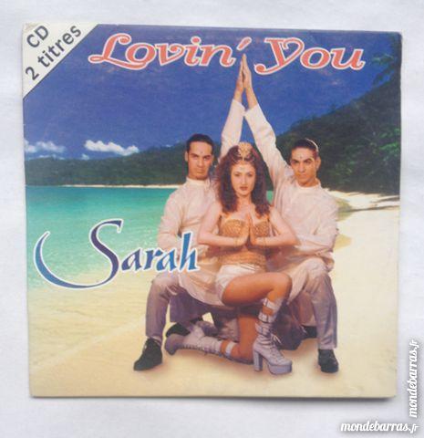cd audio  titres Sarah 1 Illkirch-Graffenstaden (67)