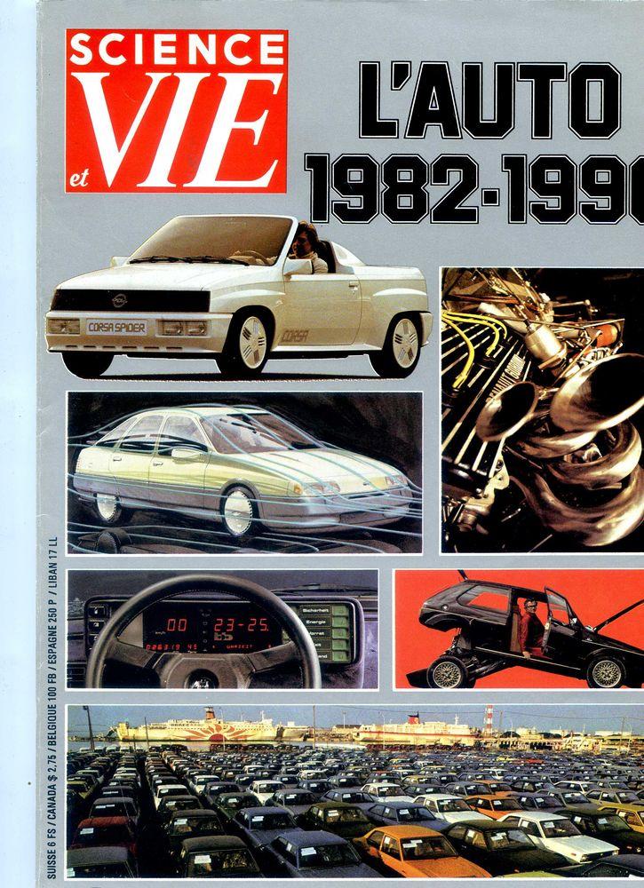 L'AUTO 1982 - 1990, Livres et BD