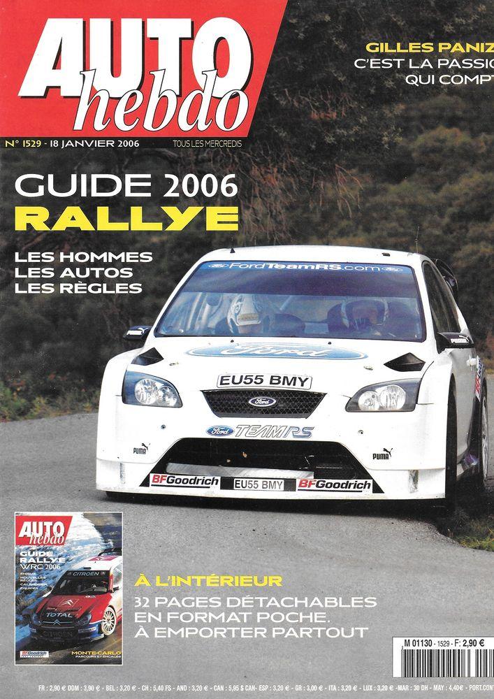 AUTO HEBDO n°1529 2006  Rallye Monte Carlo  Dakar 2 Castelnau-sur-Gupie (47)