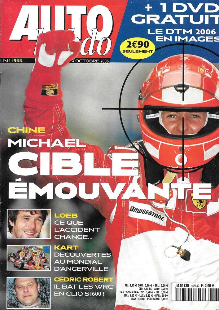 AUTO HEBDO n°1566 2006 JAGUAR XKR GP de Chine Livres et BD