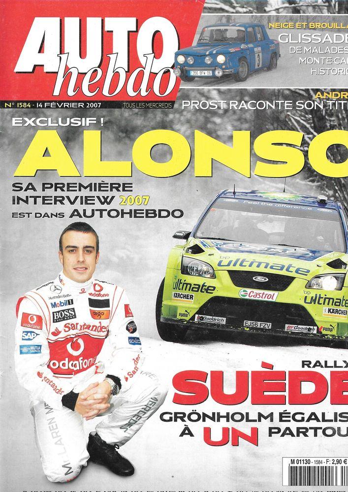 AUTO HEBDO n°1584 2007 HONDA Civic Type-R Alain PROST Livres et BD
