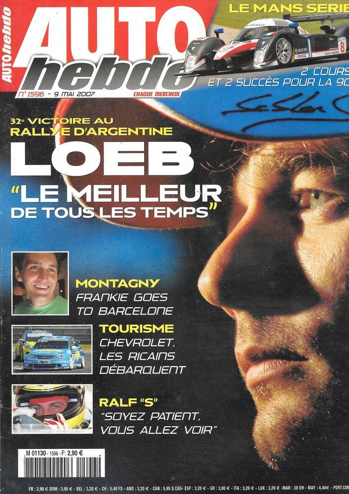 AUTO HEBDO n°1596 2007 FORD Mondeo 2.5 T Rallye Argentine Livres et BD