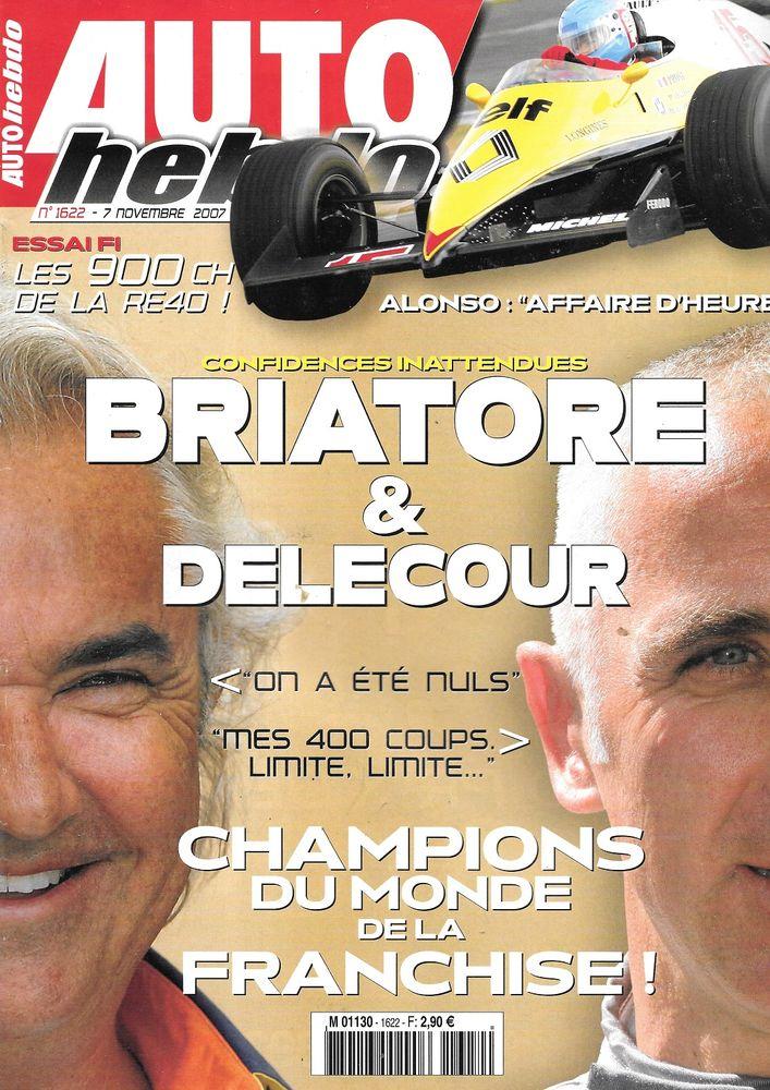 AUTO HEBDO n°1622 2007 MERCEDES C63 AMG François DELECOUR Livres et BD