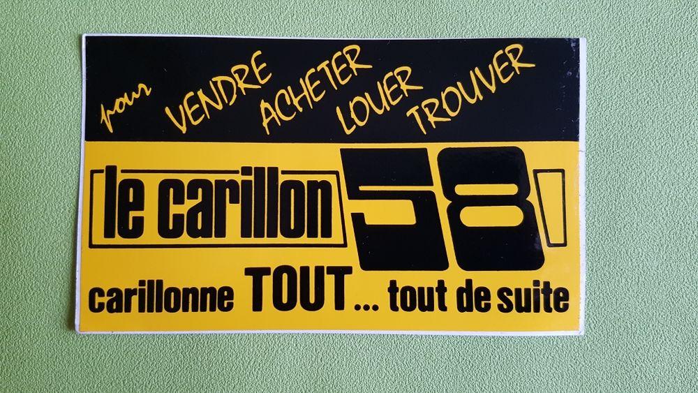 AUTOCOLLANT LE CARILLON 58 0 Toulouse (31)