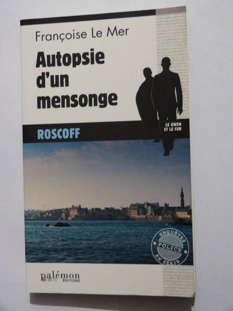 AUTOPSIE D' UN MENSONGE  roman policier  PALEMON 4 Brest (29)
