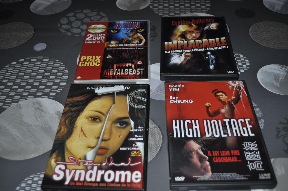 Lot de DVD avec entre autre  Mark Dacascos  5 Perreuil (71)